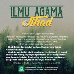 Ilmu Agama dan Jihad