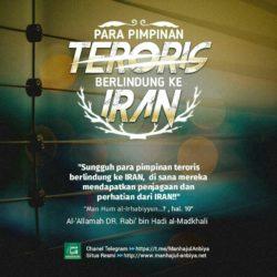 Para pimpinan teroris berlindung ke iran