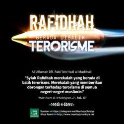 Rafidhah berada di balik terorisme