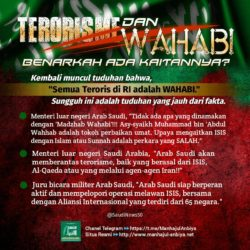 Terorisme dan Wahabi