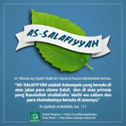 as Salafiyah