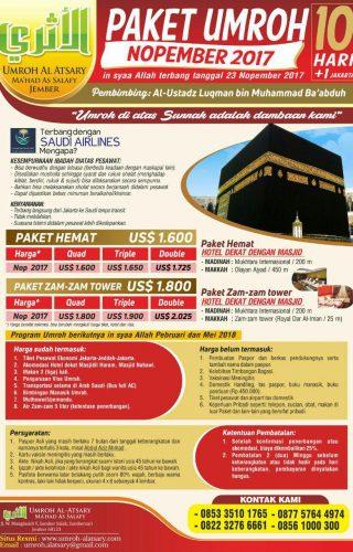 Umrah al Atsary program nopember1