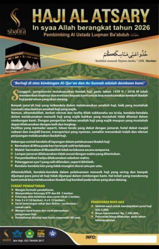 Haji Al Atsary 2026