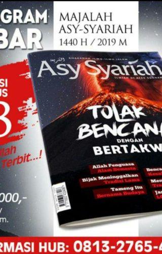 Tebar Majalah Tolak Bencana